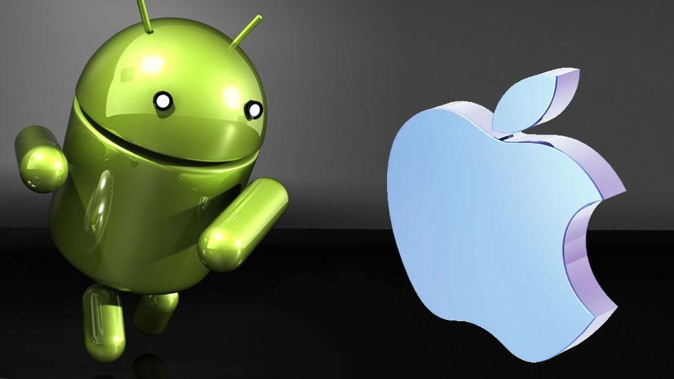 Kraftig vekst for Android og iOS