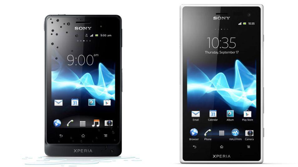 Vanntette mobiler fra Sony