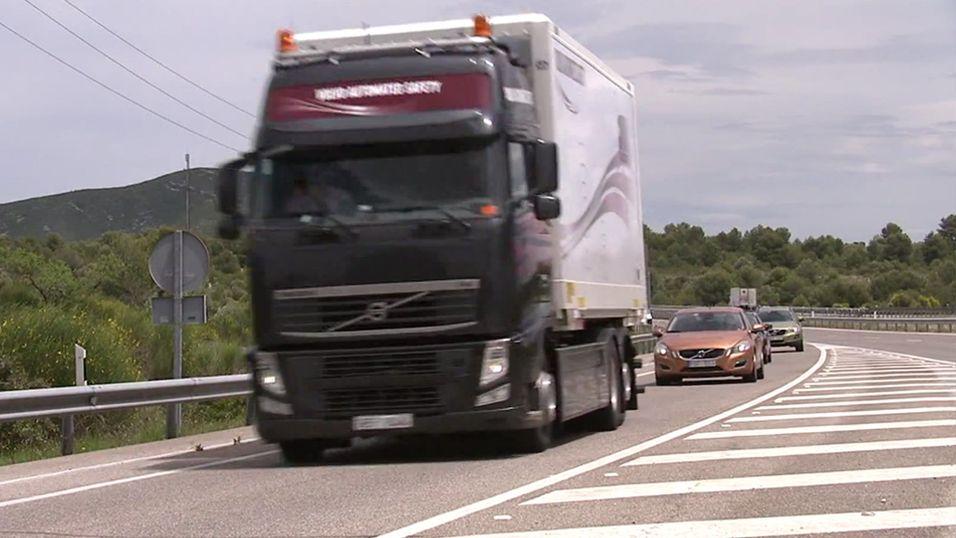 Volvo tester selvkjørende biler