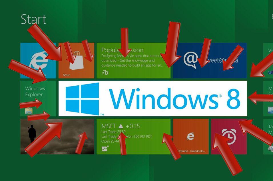 Last ned nyeste versjon av Windows 8