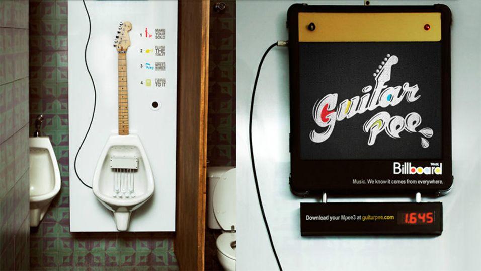 Nå kan du tisse for å spille gitar