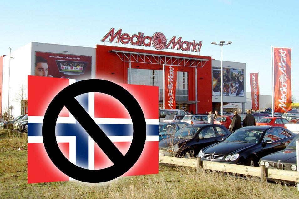 Media Markt-butikk i Tyskland.