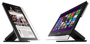 Acers nye alt-i-ett-maskiner er både tynne og berøringsfølsomme.