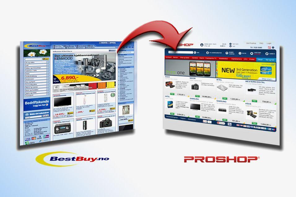 PRISGUIDE: Ny butikk i prisguiden: Proshop