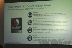 Qualcomm planlegger å slippe et utvalg forskjellige S4-brikker.