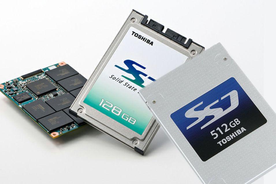 Toshiba har brukt en helt ny produksjonsteknikk for å lage sine nye SSD-er.