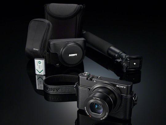 En rekke tilbehør er tilgjengelig til det nye kameraet..