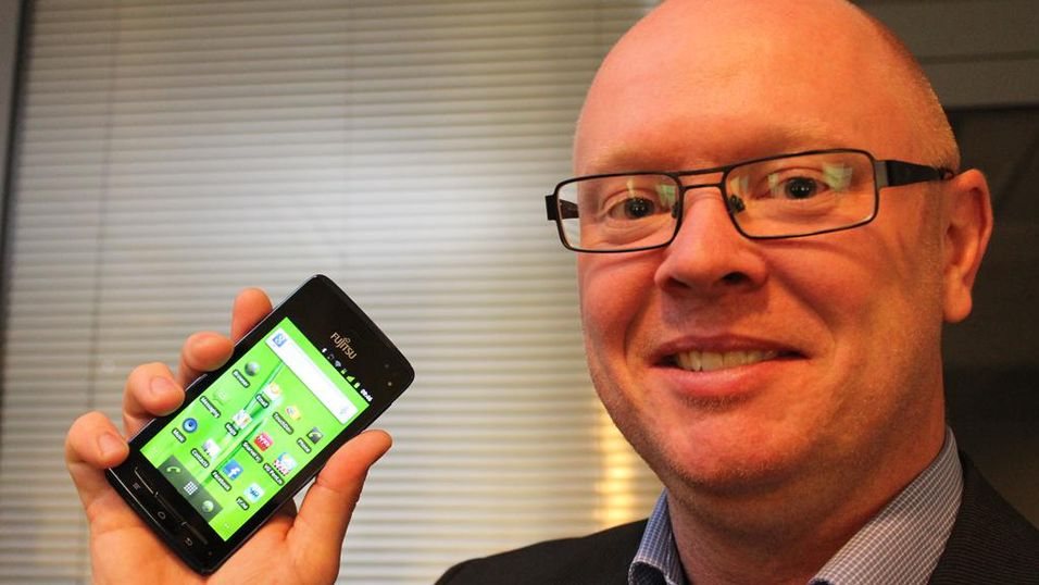Fujitsu-mobilene kommer til Norge