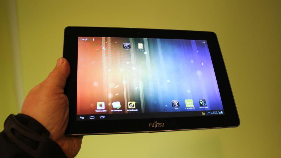 Lett og tynt Android-brett fra Fujitsu