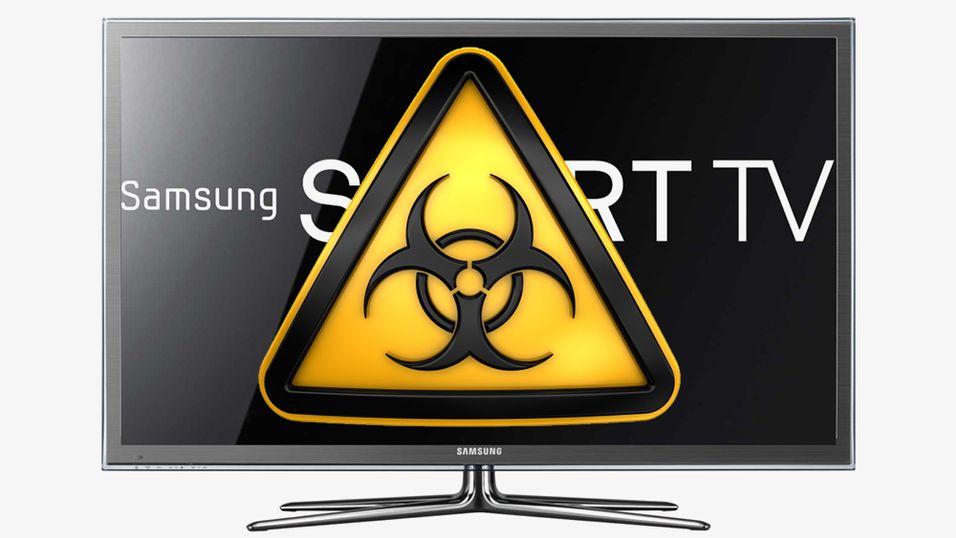 Kan jeg få virus på TV-en?