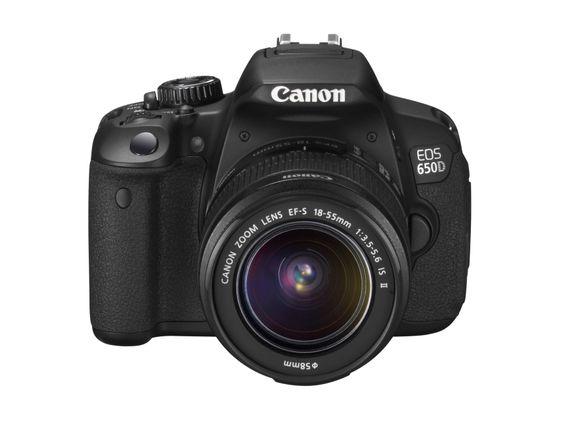 Canon EOS 650D.