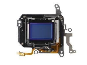 Hybrid CMOS-bildebrikken i Canon EOS 650D.