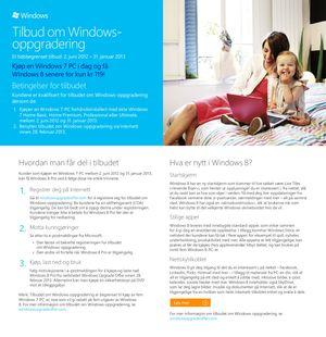 Her er skrivet Microsoft har sendt ut til norske forhandlere.