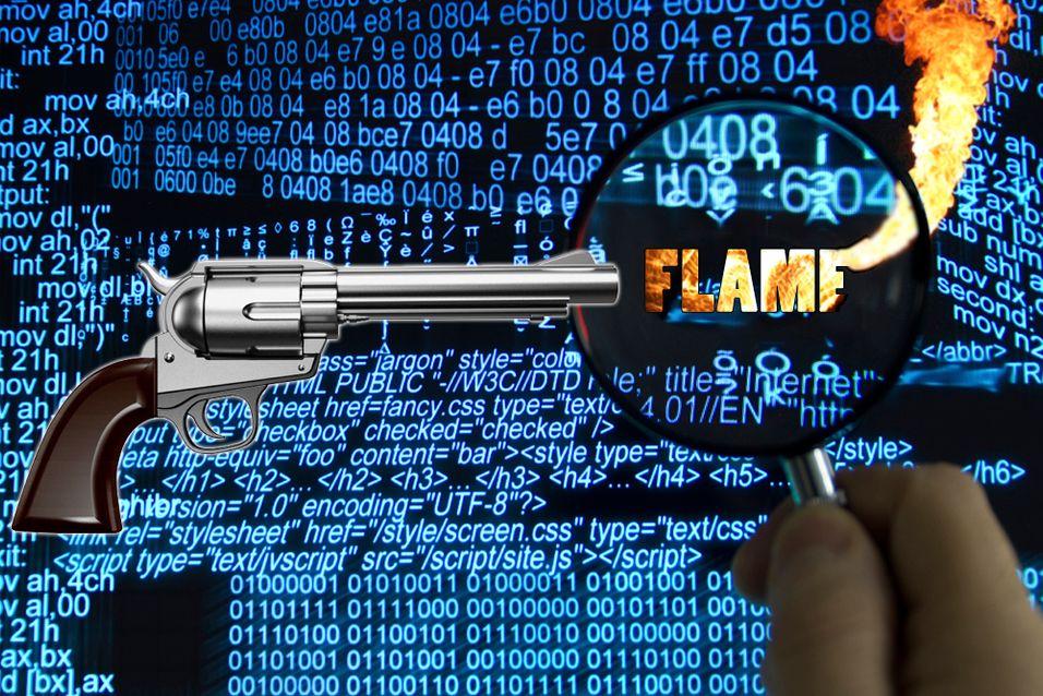 Dataormen Flame har fått selvmordsordre fra kontrollserverene.