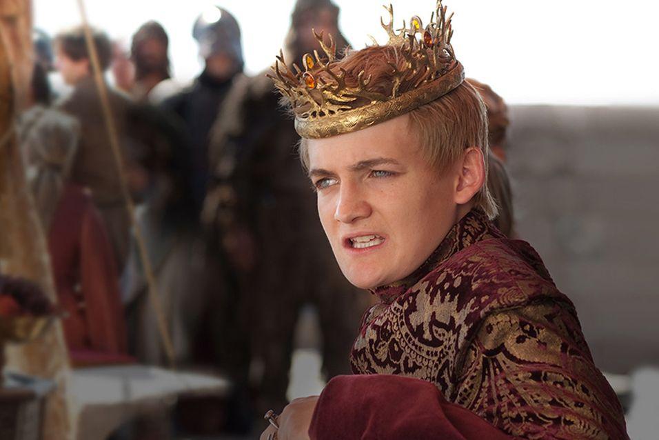 Dette vil ikke glede kong Joffrey, her i Jack Gleesons skikkelse.