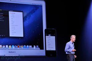 Flere av applikasjonene som dukker opp i Mountain Lion finnes også i iOS.