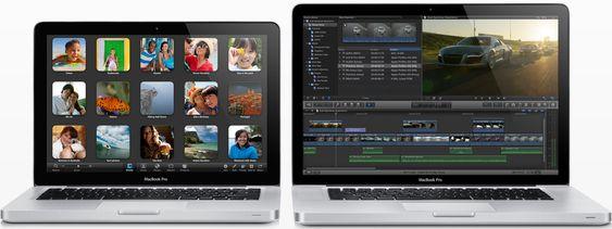 """Den """"vanlige"""" Macbook Pro-serien blir også oppgradert med langt tøffere spesifikasjoner."""