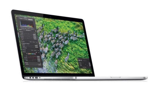Nye MacBook Pro med Retina-skjerm.
