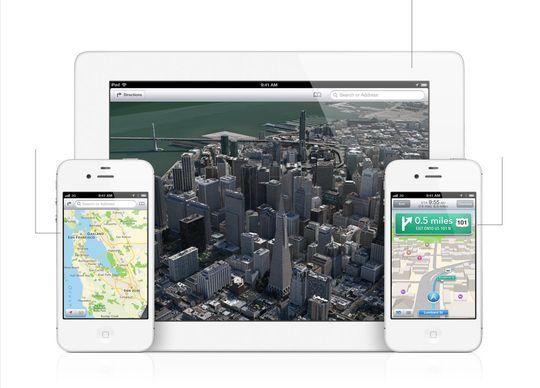 Apples nye karttjeneste.
