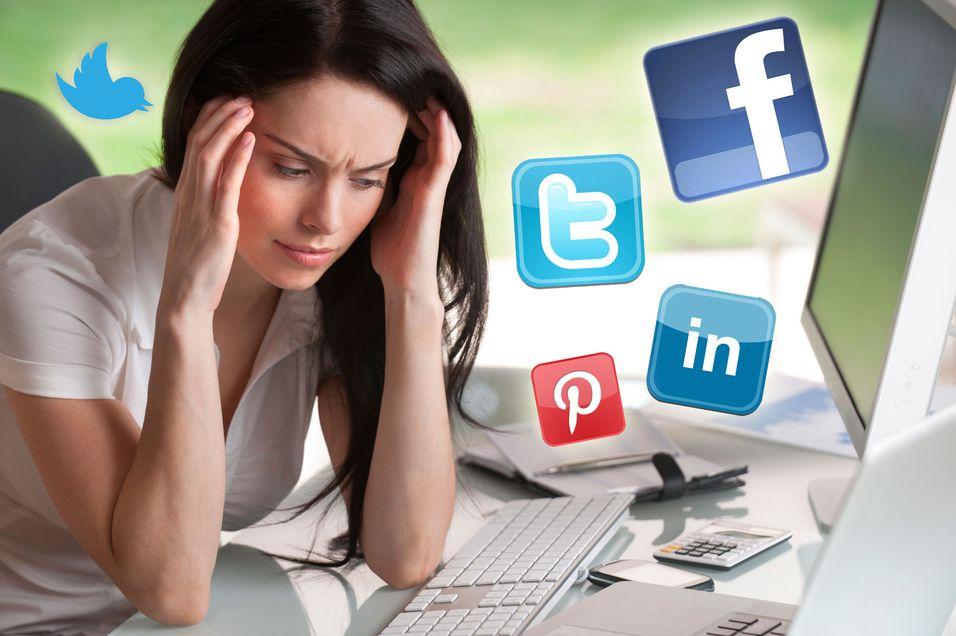 Uvettig bruk av sosiale medier kan medføre trøbbel både for firmaet og deg.
