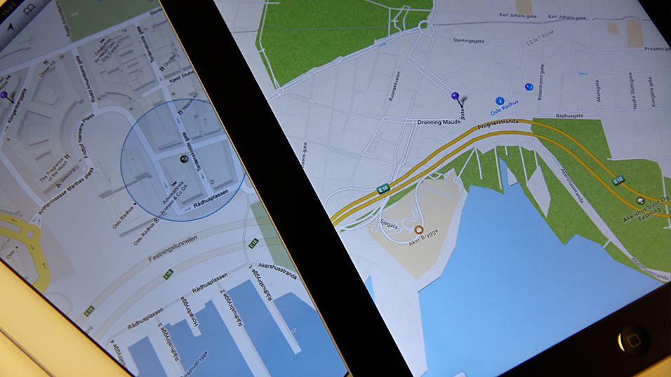 Apple kjøper opp kartselskap