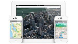 Apple lanserte sine egne kart i fjor, i konkurranse med sin tidligere samarbeidspartner Google.