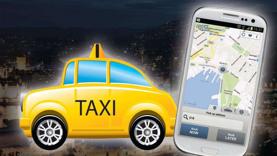 Står du fortsatt i taxi-kø?