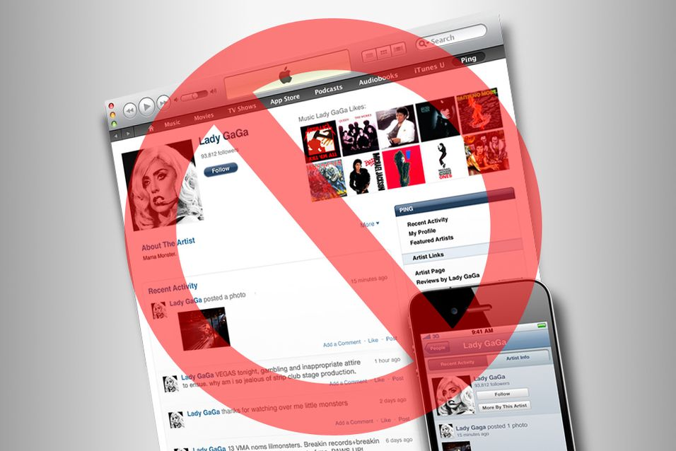 Apple legger Ping død