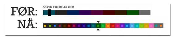 Microsoft har lagt inn langt flere fargetemaer å velge imellom i Release Preview-versjonen av Windows 8.