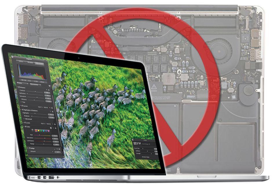 Nye MacBook Pro er et reparasjonsmareritt