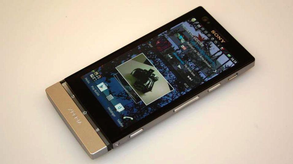 TEST: Sony Xperia P