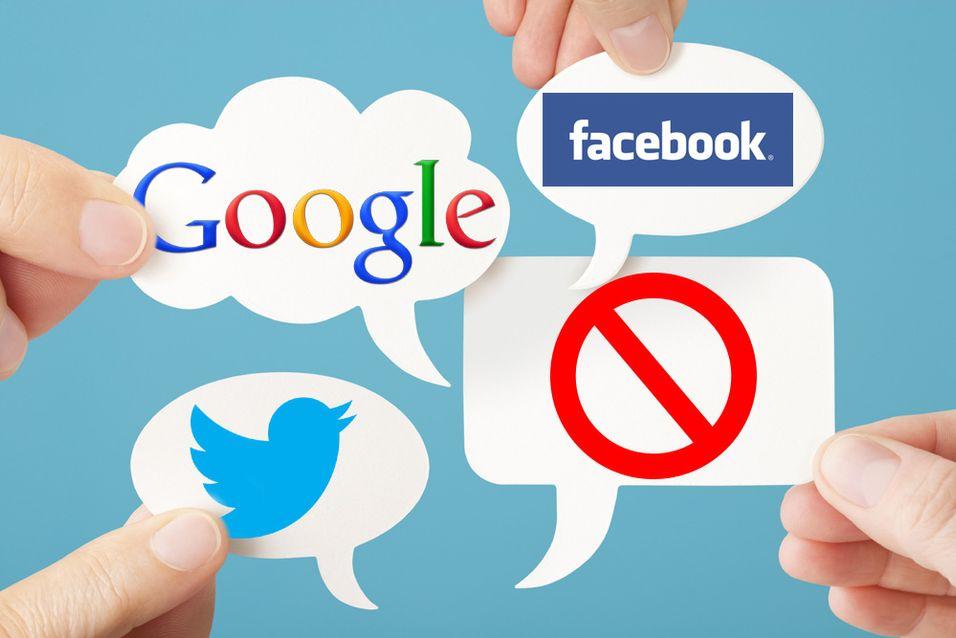 Nettgiganter går sammen  mot  reklame