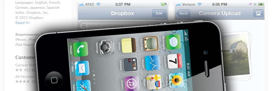 Ny Dropbox-app for iPhone-brukere