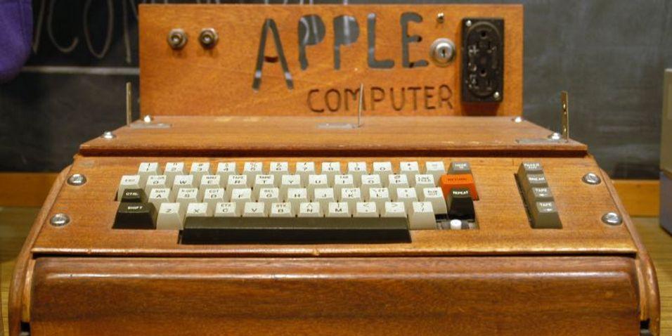 Apple 1-maskin solgt for rekordsum