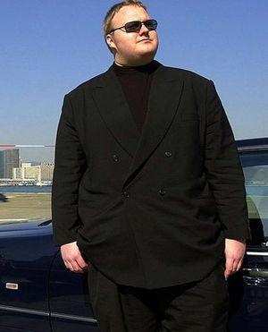 Kim Dotcom er hovedmannen bak lagringstjenesten Megaupload.