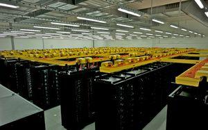 SuperMUC er den raskeste superdatamaskinen i Europa.