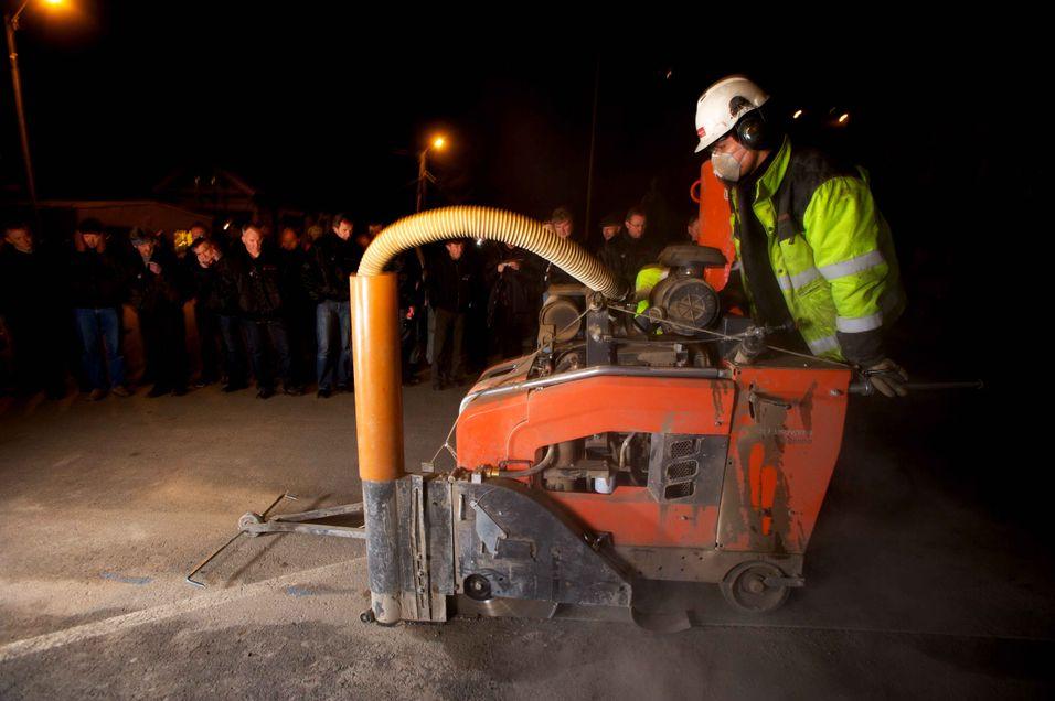 Kragerø har fått Norges første mikrogrøfter