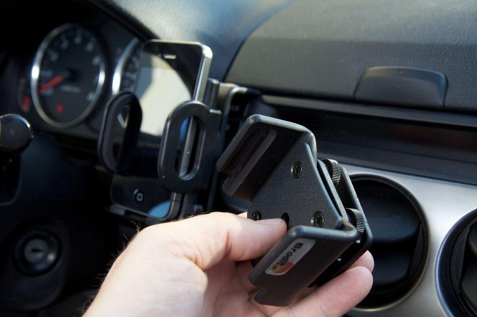 TEST: Smart mobilholder som ikke ødelegger interiøret