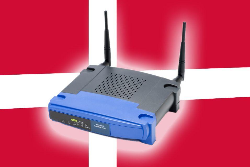 Slutt på salg av åpne rutere i Danmark