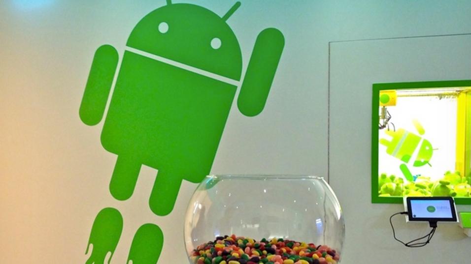 Android 4.1 er snart klar