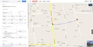 Du kan også redigere all mulig informasjon om veier.