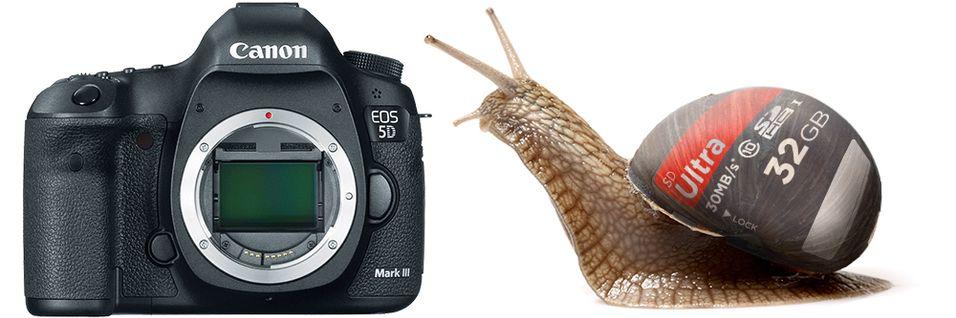 Canon bekrefter minnekorttrøbbel for 5D Mark III