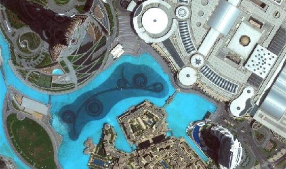 Burj Khalifa i Dubai.