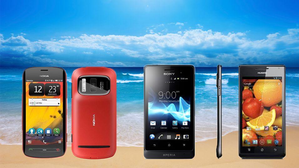 Her er de nye juli-mobilene