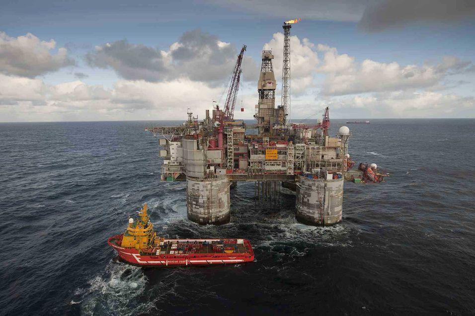 Ingeniørstudentene drømmer om oljen