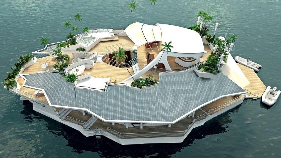 De flytende Orsos-øyene vil garantert gi deg en utsikt og luksus få andre kan måle seg med.