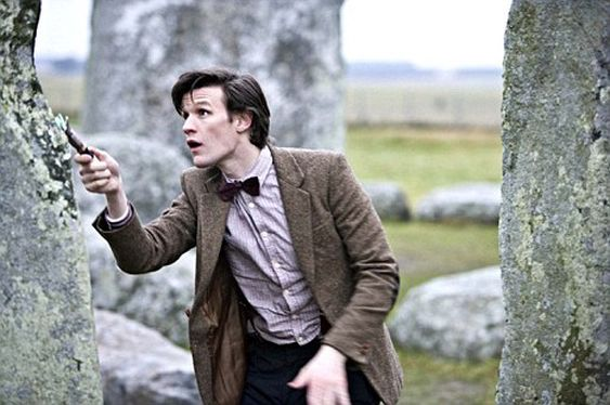 Matt Smith som The Doctor.