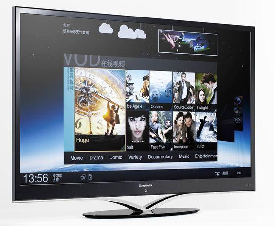 Denne TV-en fra Lenovo kjører på en dual core-prosessor.