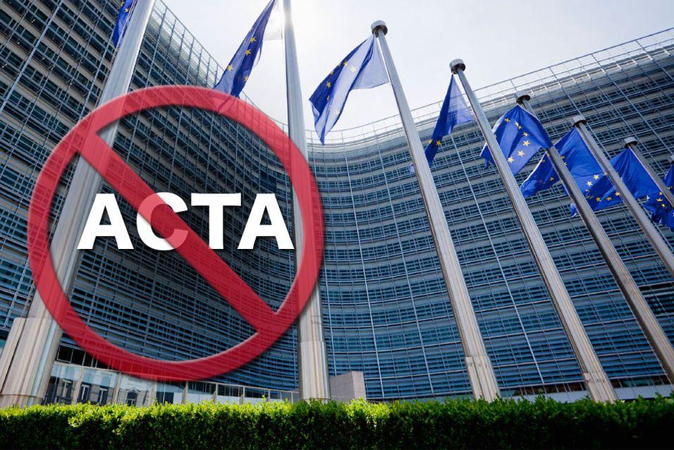 Nå forsvinner ACTA-loven for godt.