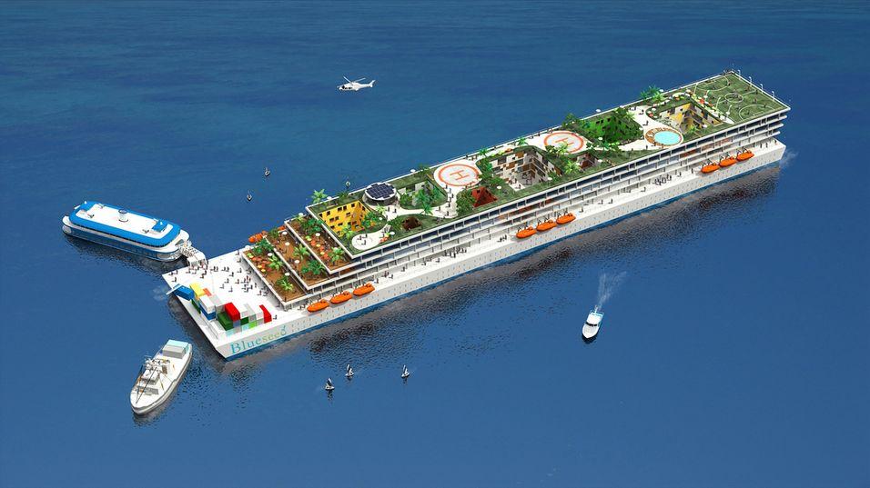 Blueseed beskrives som «Googleplex til sjøs».